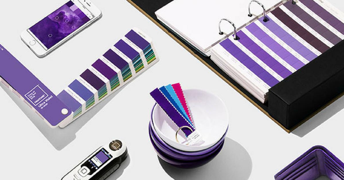 Pantone ha escogido el Ultra Violet como Color del Año 2018_Grafiks