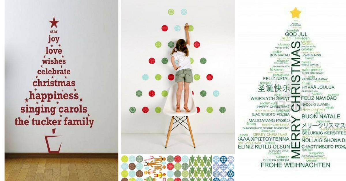75 ideas para poner un árbol de Navidad original y sin árbol