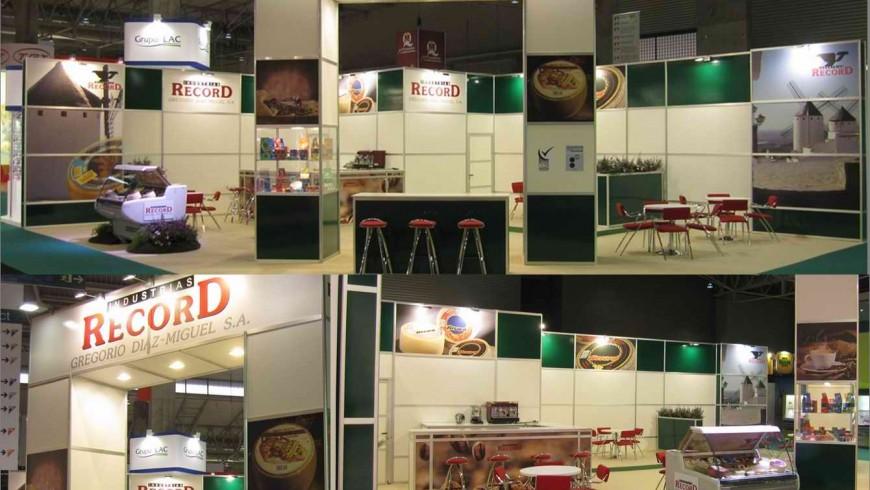 Rotulación estand Recor en Alimentaria_por Grafiks