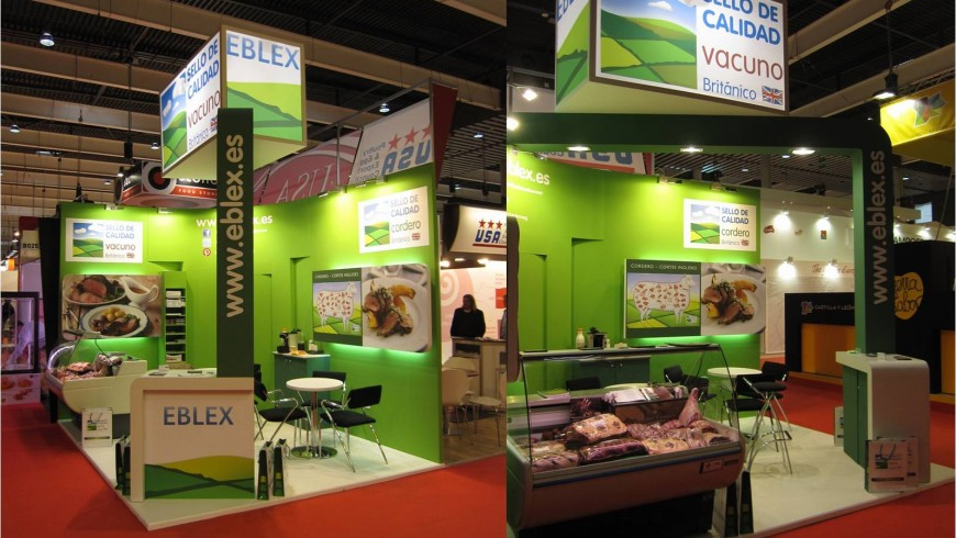 Rotulación para Eblex en Alimentaria 2014-por Grafiks