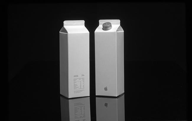 Envase de leche-Mac