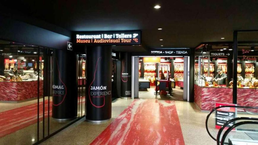 Rotulacion entrada Jamon Experience