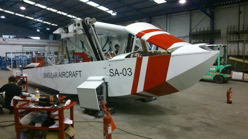 Hidroavion dron portada