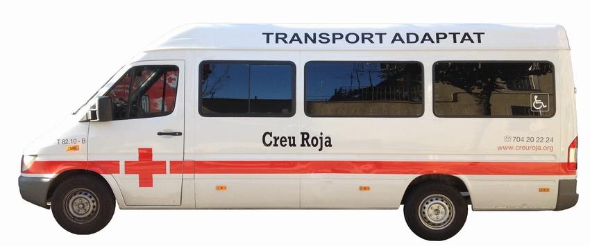 Vehiculo Cruz Roja