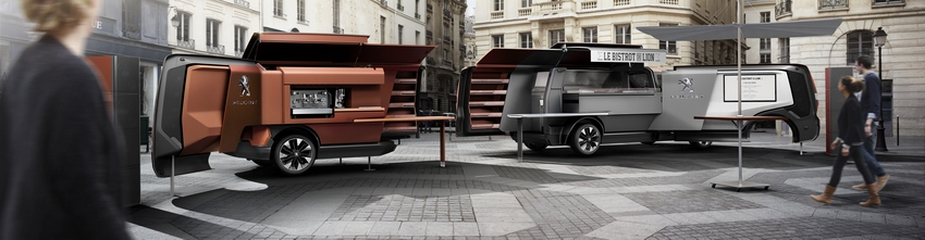 PEUGEOT Foodtruck panoramica
