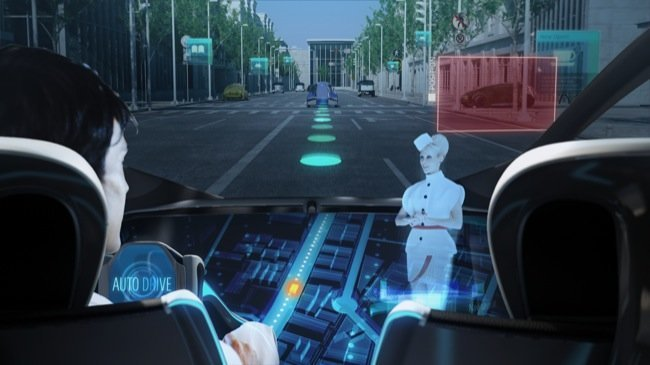 El Toyota Fun Vii incorpora un sistema tecnológico que sustituirá en el futuro a la rotulación de vehículos actual_Grafiks