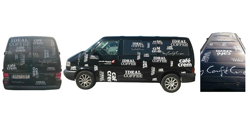 Rotulación vehículos empresa Grupo Costa Brava_Grafiks