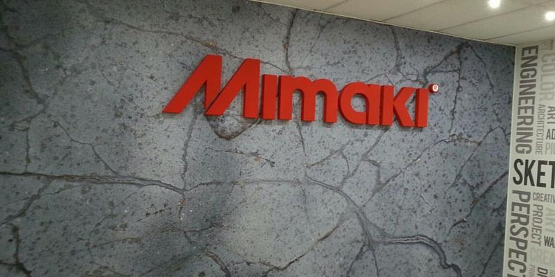Letras corpóreas Mimaki_Grafiks