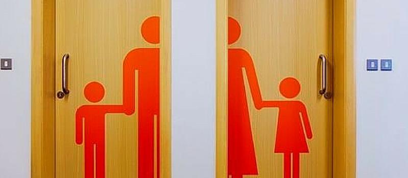 Rotulación: 50 ideas para señalizar los cuartos de baño_Grafiks