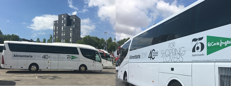 Rotulación de vehículos_autocares Ízaro