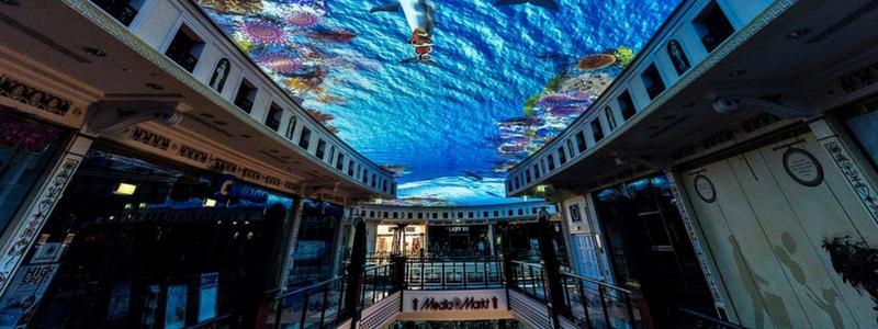 Das Schloss de Berlín: un centro comercial bajo las profundidades marinas
