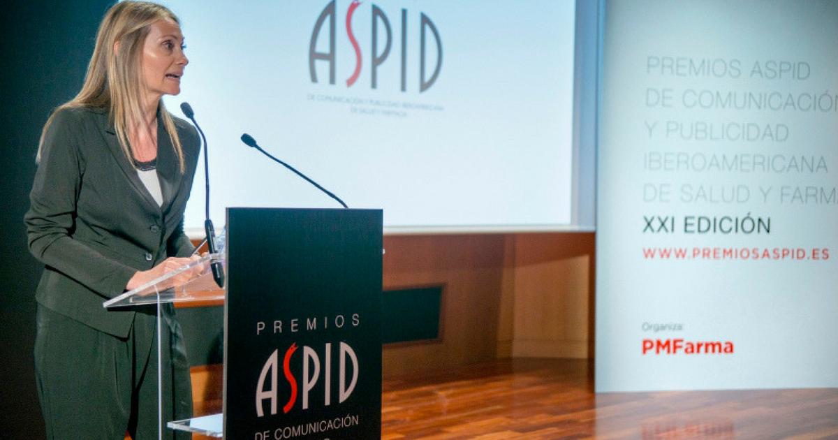 Rotulación para los Premios Aspid España 2017