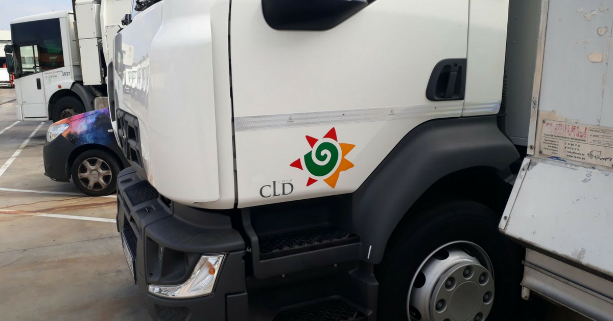 Rotulación de vehículos para Corporación CLD