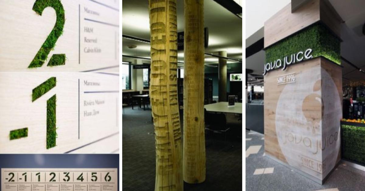 20 ideas inspiradoras para la rotulación de espacios