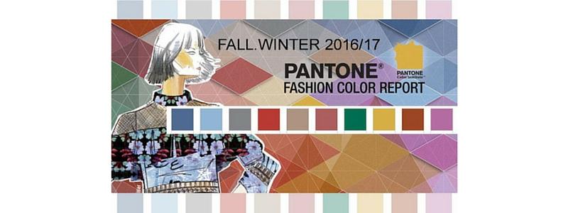 Tendencias en colores para el otoño 2016/invierno 2017