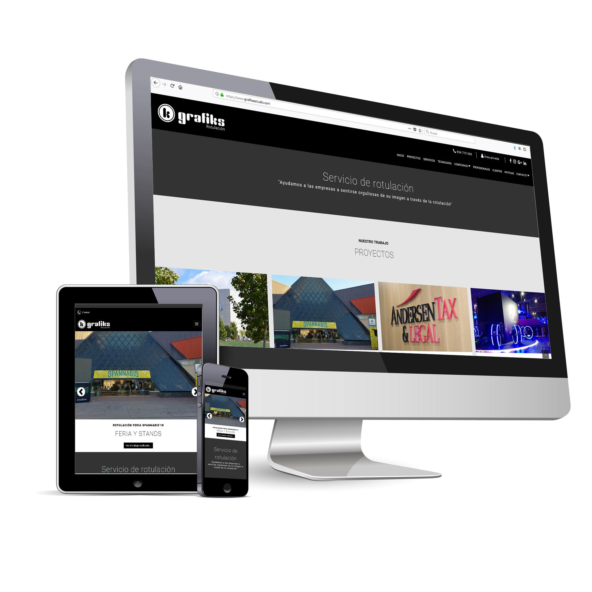 Nueva web de Grafiks