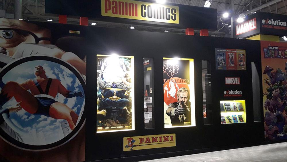 El diseño gráfico en el Salón del Comic resultó fundamental para atraer a los más de 118.000 asistentes