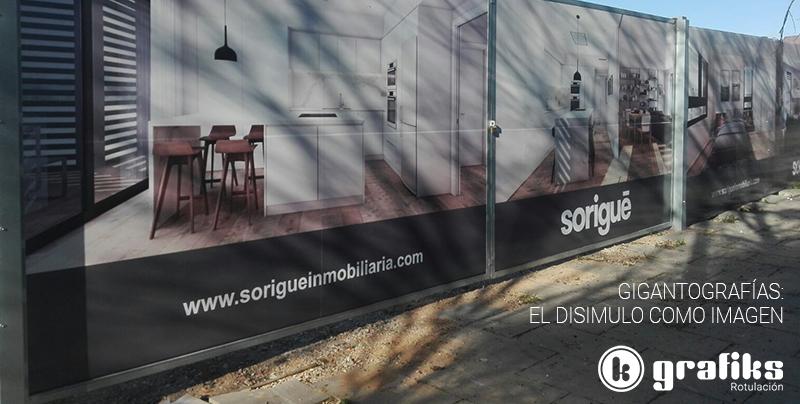 Gigantografías para cerrado de obras Grafiks