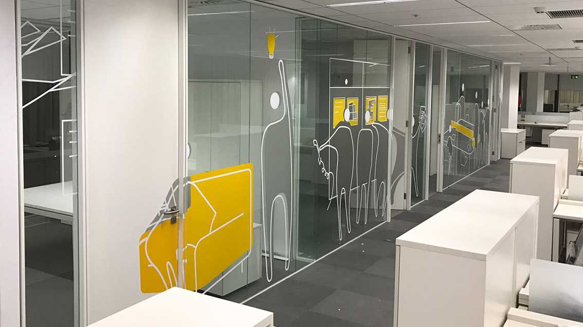 vinilos para oficinas Grafiks: personalidad para tu oficina