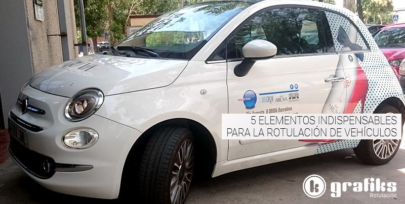 La rotulación de vehículos es el sistema más eficaz para hacer publicidad durante los desplazamientos de empresa