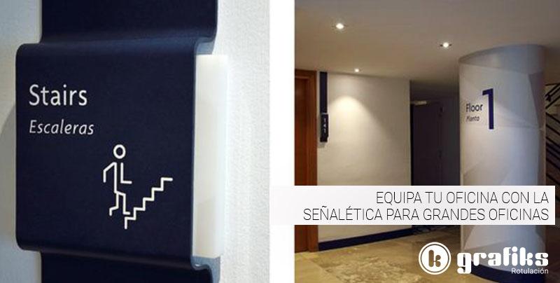 La señalética para oficinas ofrece información a la par que envuelve al cliente en el espíritu de la empresa