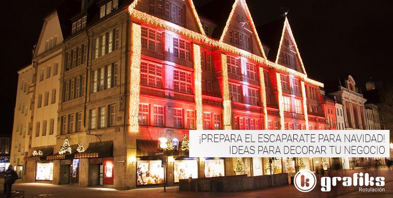 ¡Prepara el escaparate para Navidad! Ideas para decorar tu negocio
