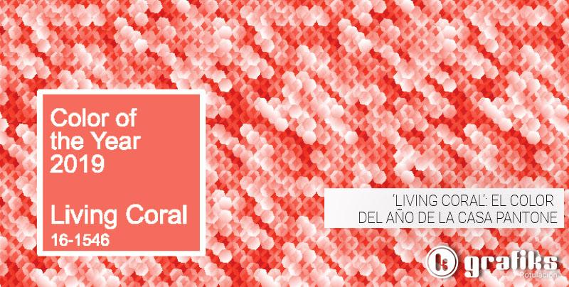 El color Pantone 2019 es el Living Coral. Descubre cómo integrarlo en tus proyectos