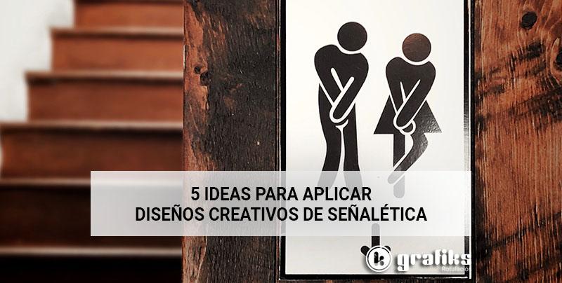 diseños creativos de señalética para oficinas
