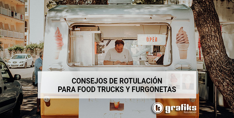 rotulación para food trucks
