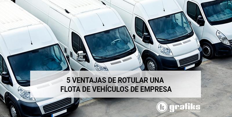 ¿Por qué rotular los vehículos de la empresa?