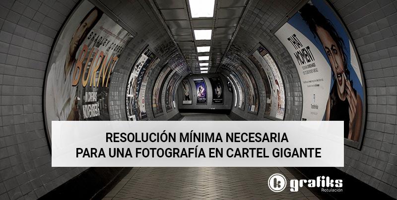 Resolución foto gigantografía